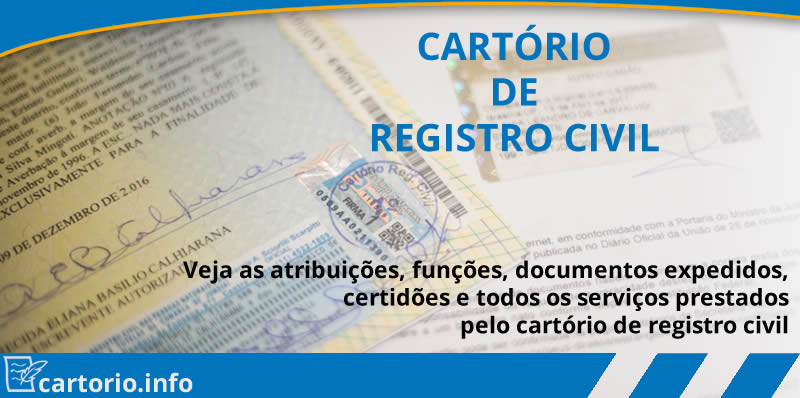 Cartório de registro civil